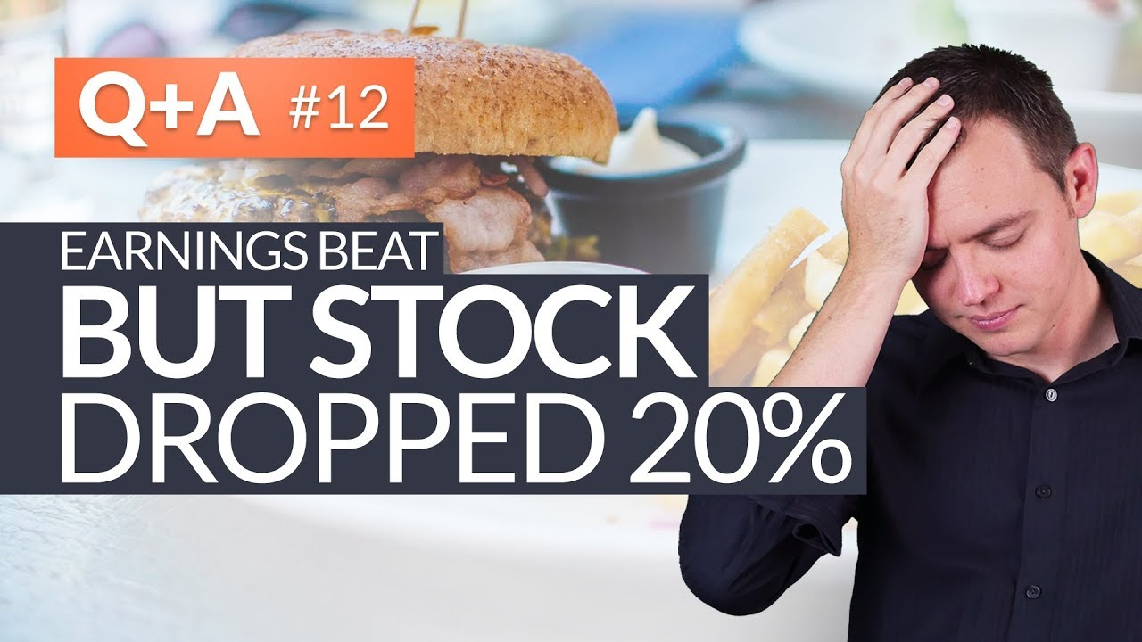 Earnings Beat Estimates, But Stock Still Dropped 20%! #HungryForReturns 12