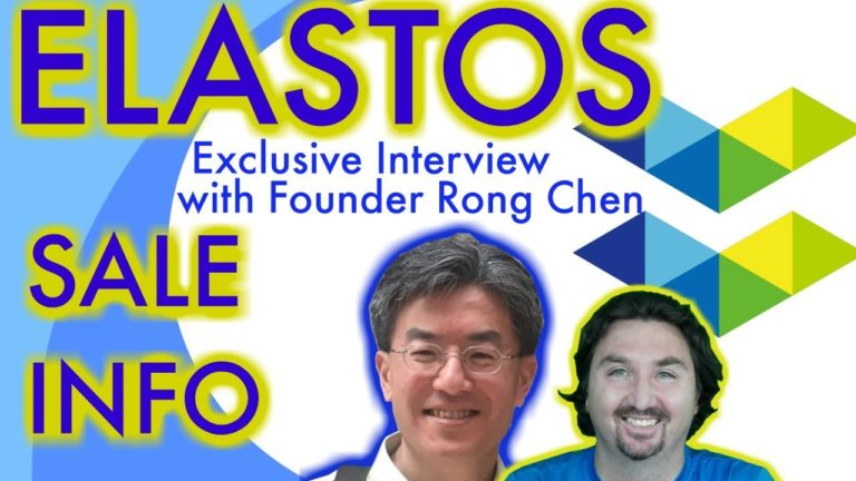 Elastos January Sale:  Clarification from CEO Rong Chen. Interview by BlockchainBrad