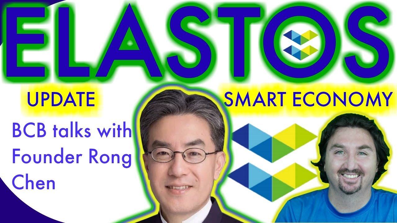 Elastos News | Exclusive Update | Rong Chen chats with BlockchainBrad | Smart Web & P2P Carrier!