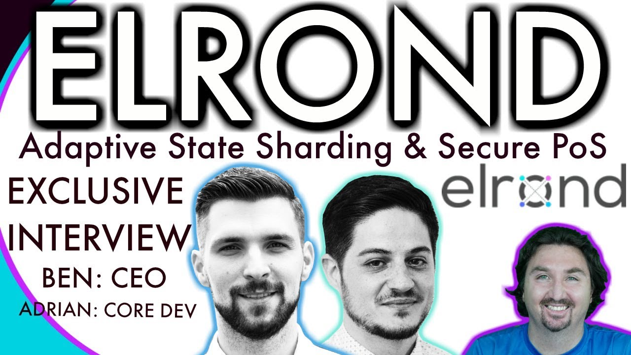 Elrond AMA   BlockchainBrad EXCLUSIVE interview   Adaptive State Sharding   CEO Interview