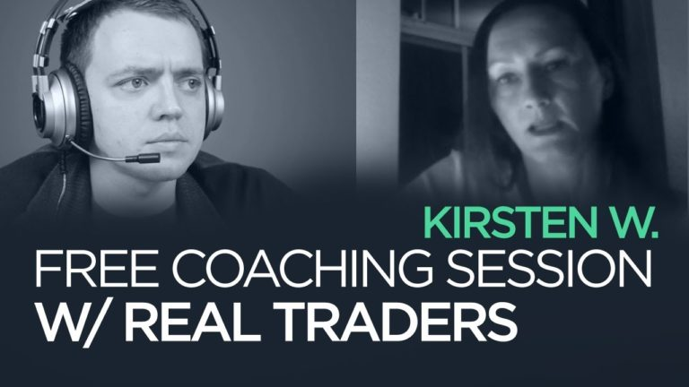 Ep 157: Stock Trading Coaching w/ Kirsten | Chat w/ Traders