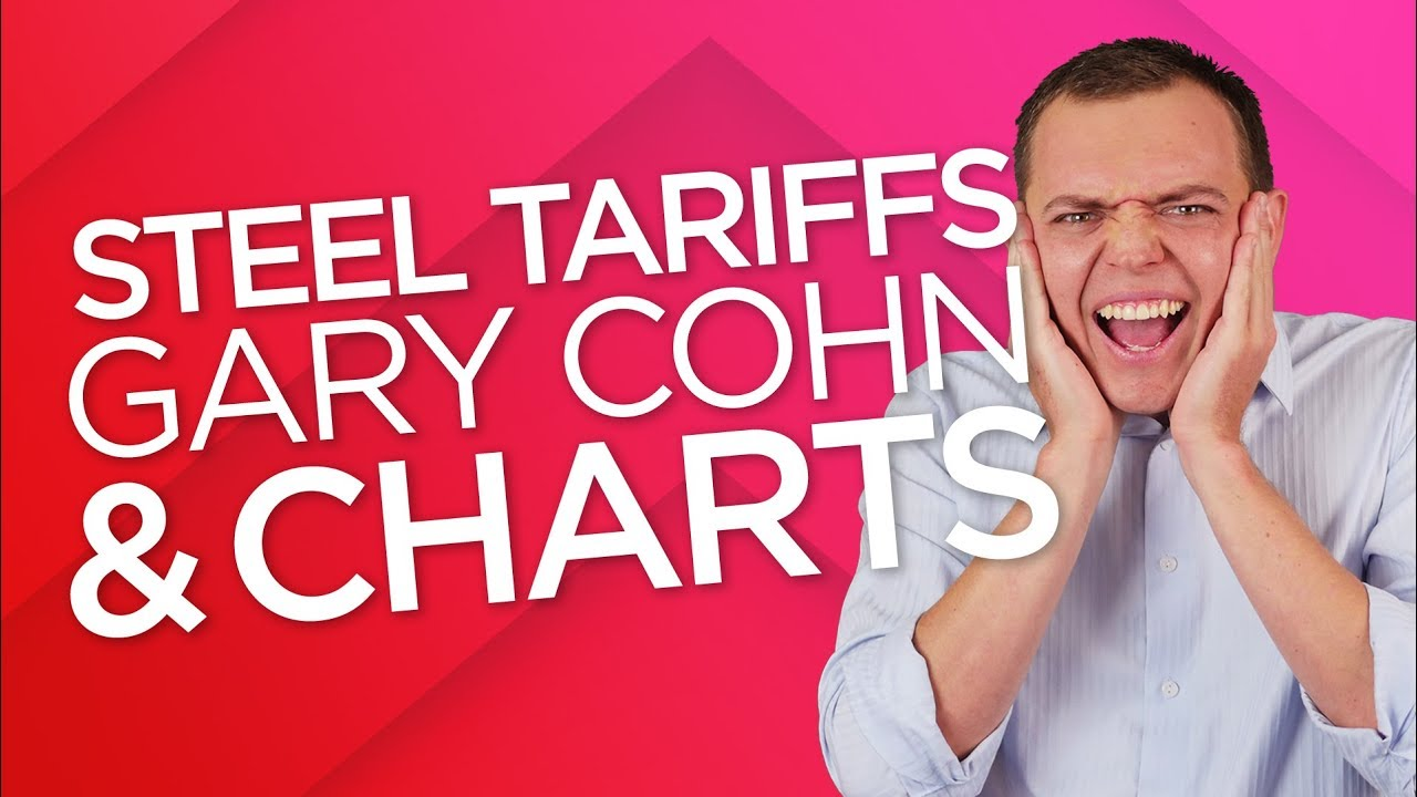 Ep 174: Trump Tariffs on Steel, Gary Cohn, Jobs Report, & Stock Charts