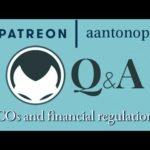 Ethereum Q&A: ICOs and financial regulation