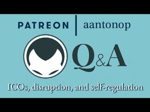 Ethereum Q&A: ICOs, disruption, and self-regulation