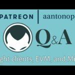 Ethereum Q&A: Light clients, EVM, and Mist