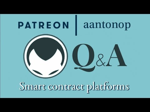 Ethereum Q&A: Smart contract platforms