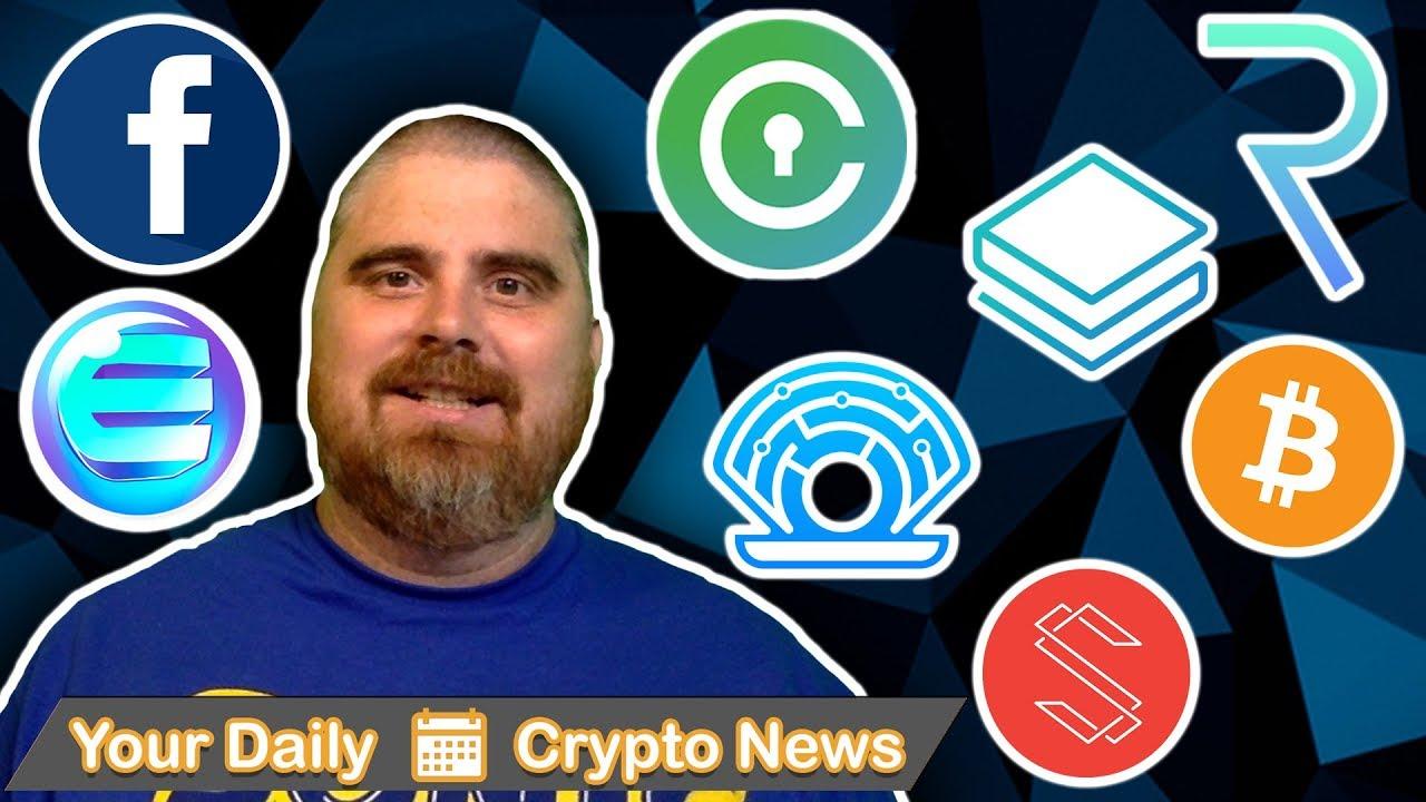 Facebook Crypto, China News, BTC, ENJ, SUB, STRAT, REQ, PRL, CVC, & More!