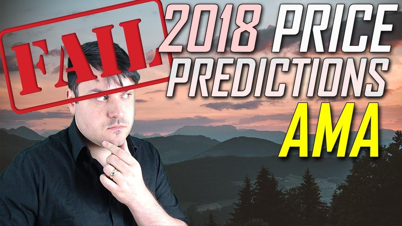 Failed 2018 Price Predictions   AMA