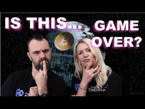 GAME OVER FOR CRYPTO ? BTC CRASHING , BCH FORK,  ICO's TO ZERO ?