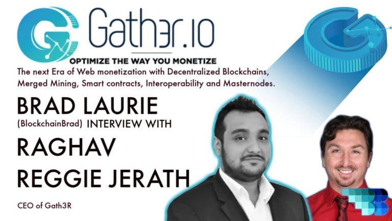 Gath3r | BlockchainBrad | Web Mining & Monetization | Merged Mining | Interoperability  Masternodes.