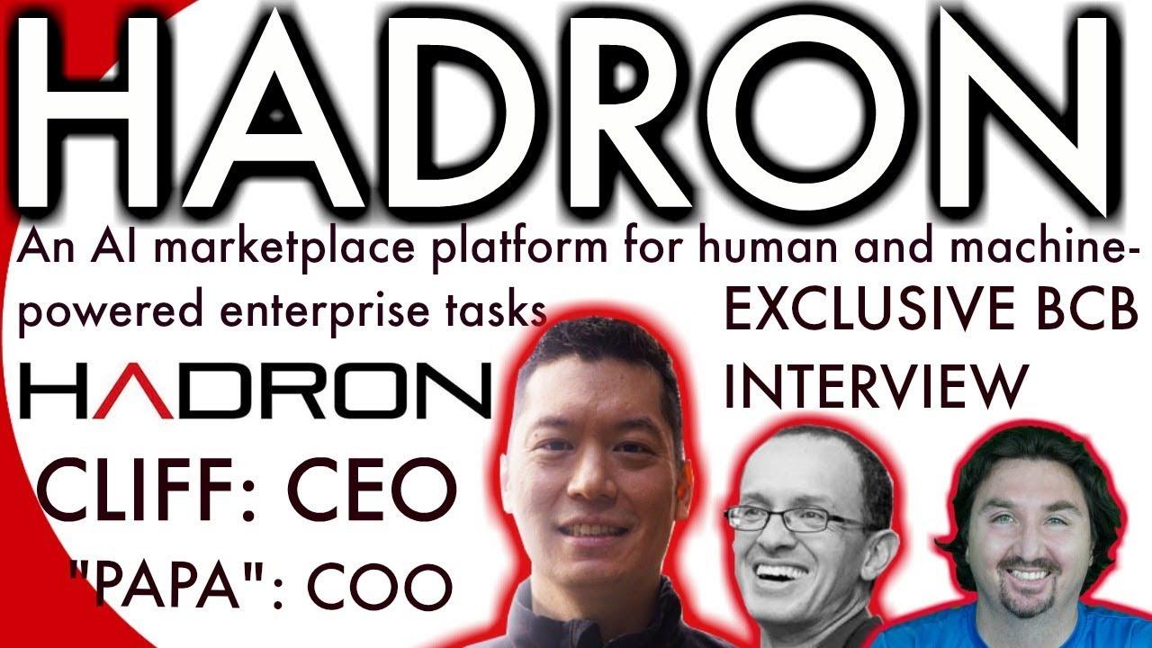 HADRON EXCLUSIVE Interview | Major Hubble PARTNERSHIP | Cliff Szu | Crypto News | BCB