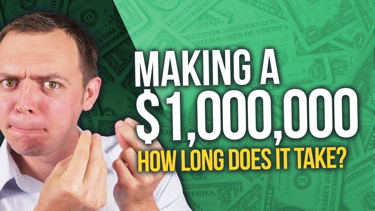 How Long Does it Take to Make a Million Dollars ($1M) in the Stock Market? Ep 239