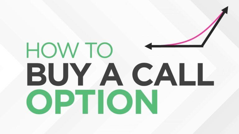 How to BUY a CALL Option – [Option Trading Basics]
