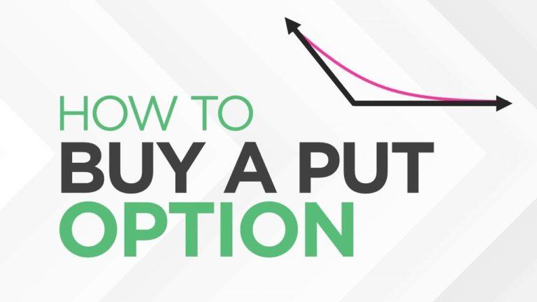 How to BUY a PUT Option – [Option Trading Basics]