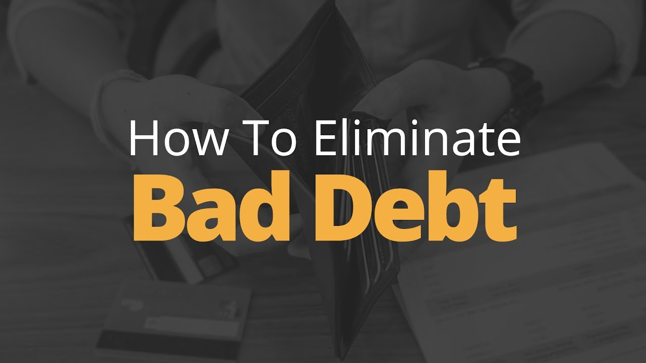 How to Eliminate Bad Debt   Phil Town