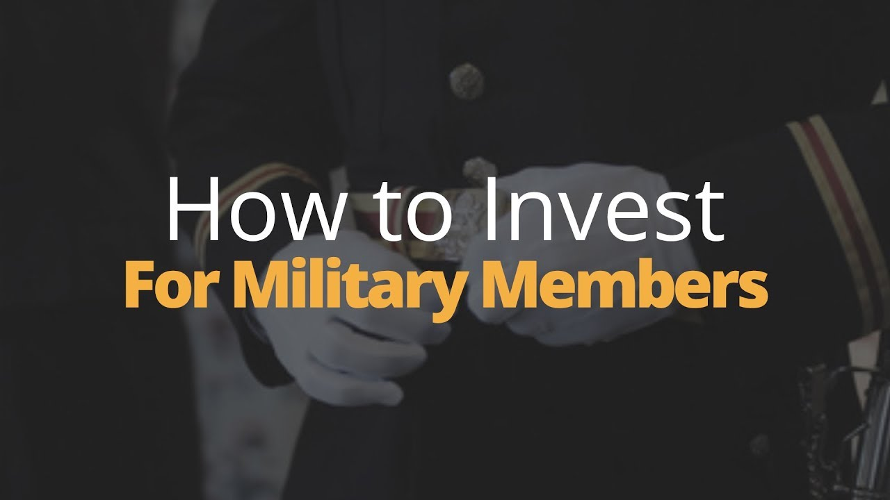 How to Invest: Active or Retired Military | Phil Town