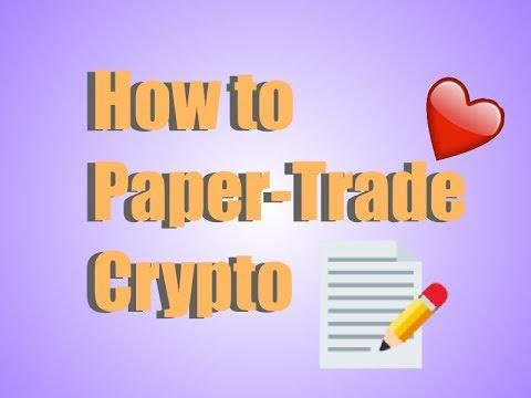 How to Paper-Trade on Tradingview.com