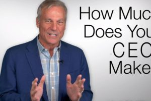 How to Recognize Overcompensation in CEO Salaries