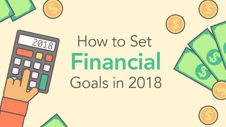 How to Set Great Financial Goals (For 2018!) | Phil Town