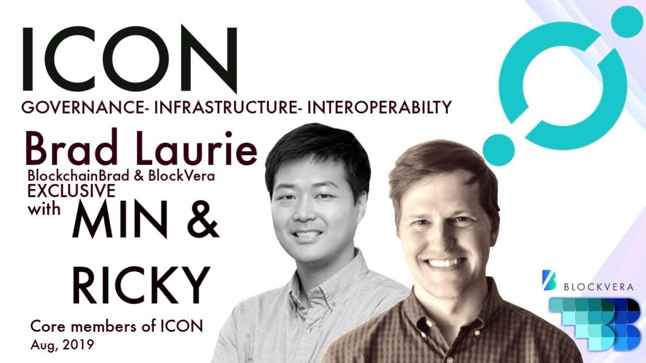 ICON | Min & Ricky Exclusive ICX Interview | Governance & Blockchain Interoperability