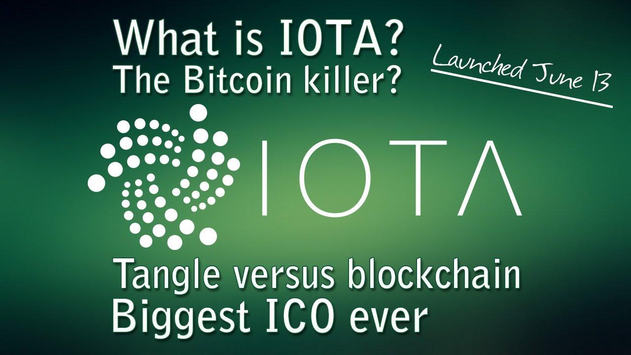 IOTA - What is IOTA? What is the tangle technology? The Bitcoin killer?