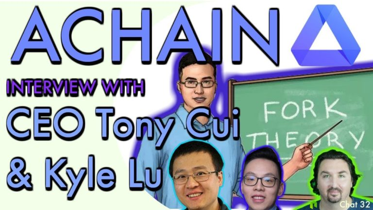 Interview with Achain CEO Tony Cui & Kyle Lu by BlockchainBrad