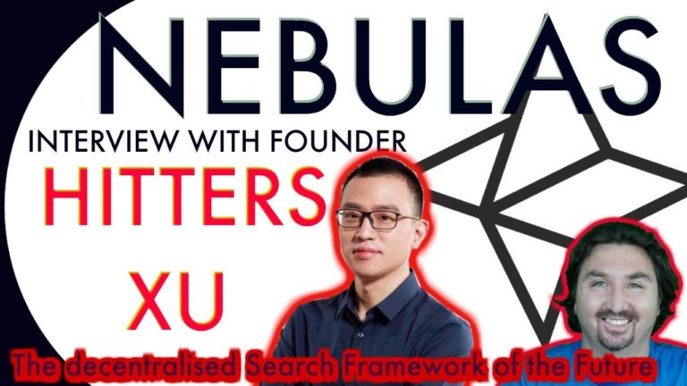 Interview with Nebulas Founder Hitters Xu by BlockchainBrad