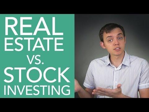 Investing in Real Estate vs. The Stock Market