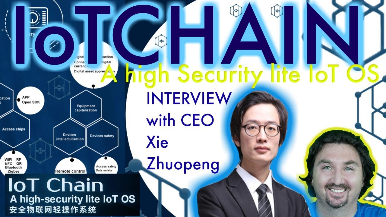 IoTChain Exclusive Interview with CEO Xie Zhuopeng by BlockchainBrad