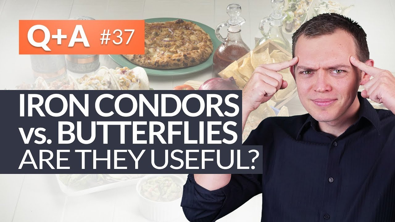 Iron Condor vs Butterfly with Option Trading - Are They Useful? Ep 37