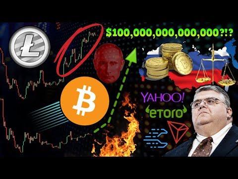 Is Bitcoin Following Litecoin?! $100 TRILLION Crypto Market Cap Possible!? Russia Postpones Bill