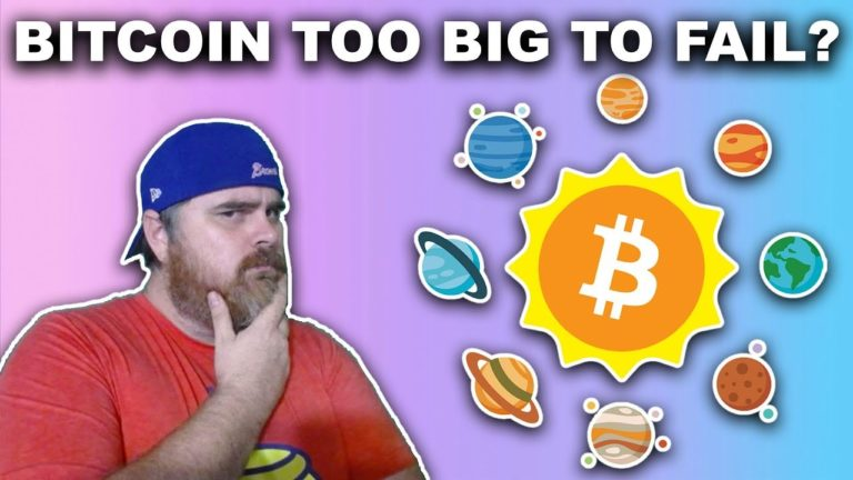 Is Bitcoin Too Big To Fail?   1 Billion People to Use Crypto