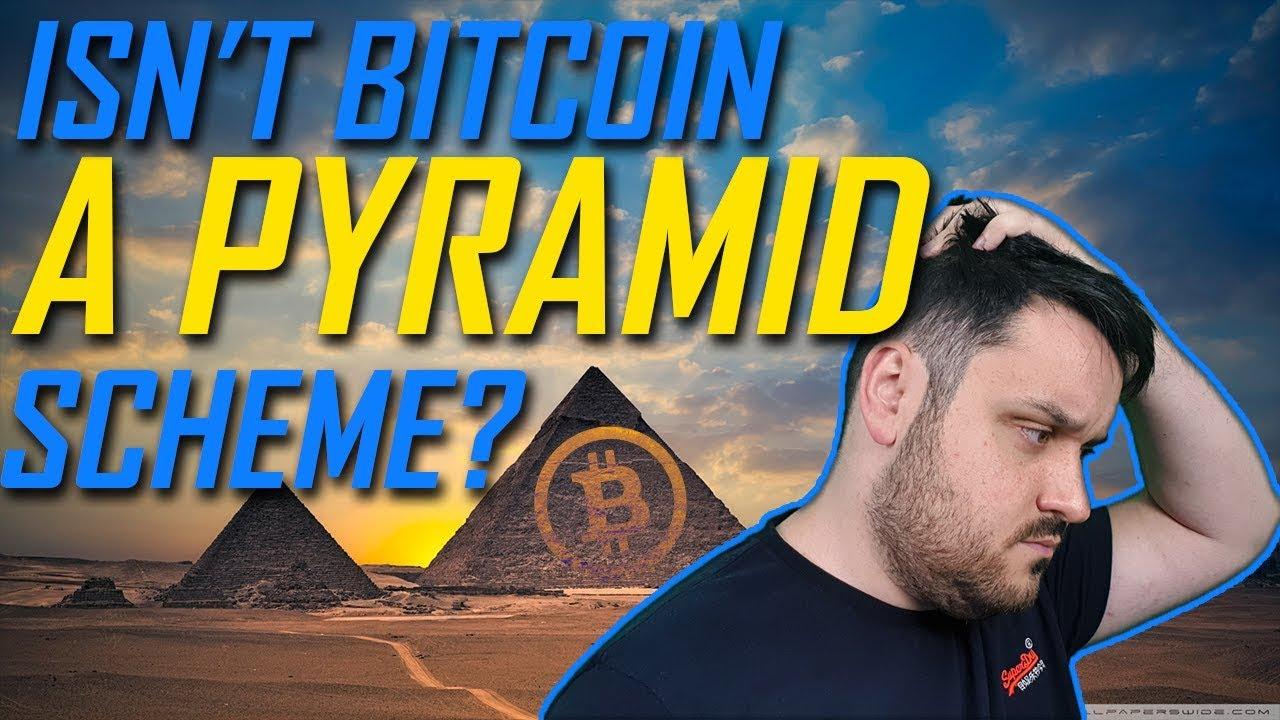 Isn't Bitcoin a Pyramid Scheme?