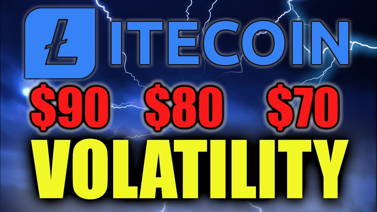 LITECOIN HIGH VOLATILITY TO SEE NEW LTC LOW?