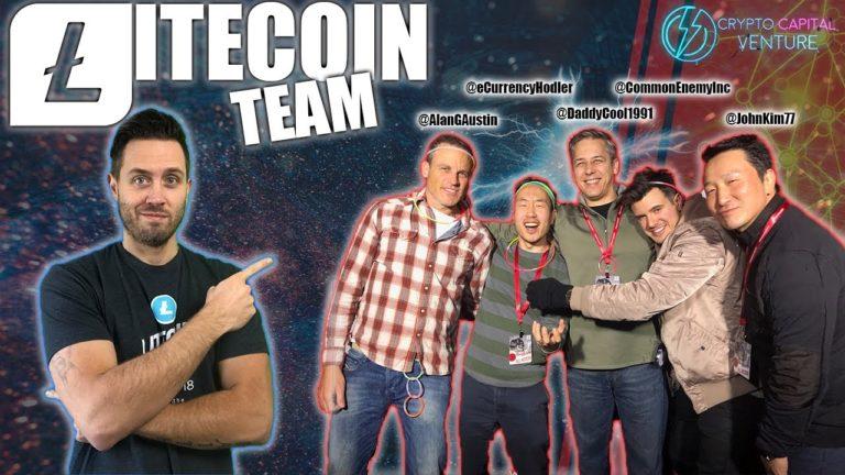 LITECOIN NEWS | LTC Team Live Stream