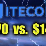 LITECOIN PREPARING TO BREAK - LTC $140 vs. $70