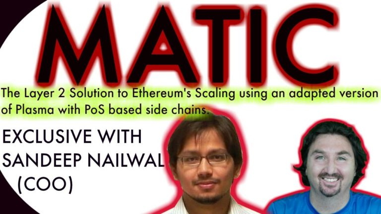 Matic Network | BlockchainBrad EXCLUSIVE Interview with MATIC COO | An Ethereum Scalability solution