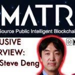 MatrixChain Exclusive! BCB talks tech with Prof. Steve Deng. This Blockchain is gonna be BIG!