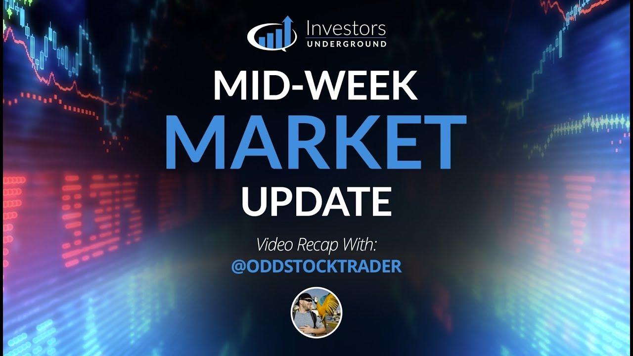 Mid-Week Market Update (10/10/18) - Blood in the Streets, S&P500, Dow Jones, QQQ's