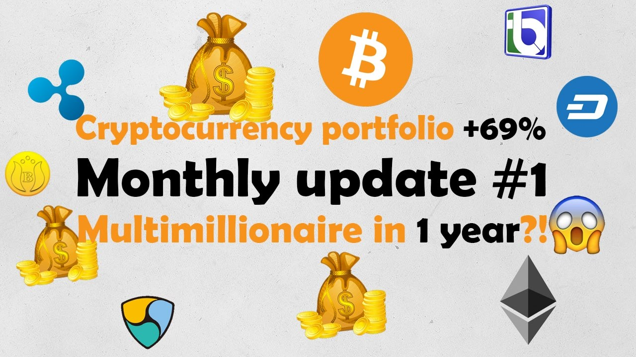Monthly update #1 - portfolio +69% this month - multimillionaire in 1 year?!