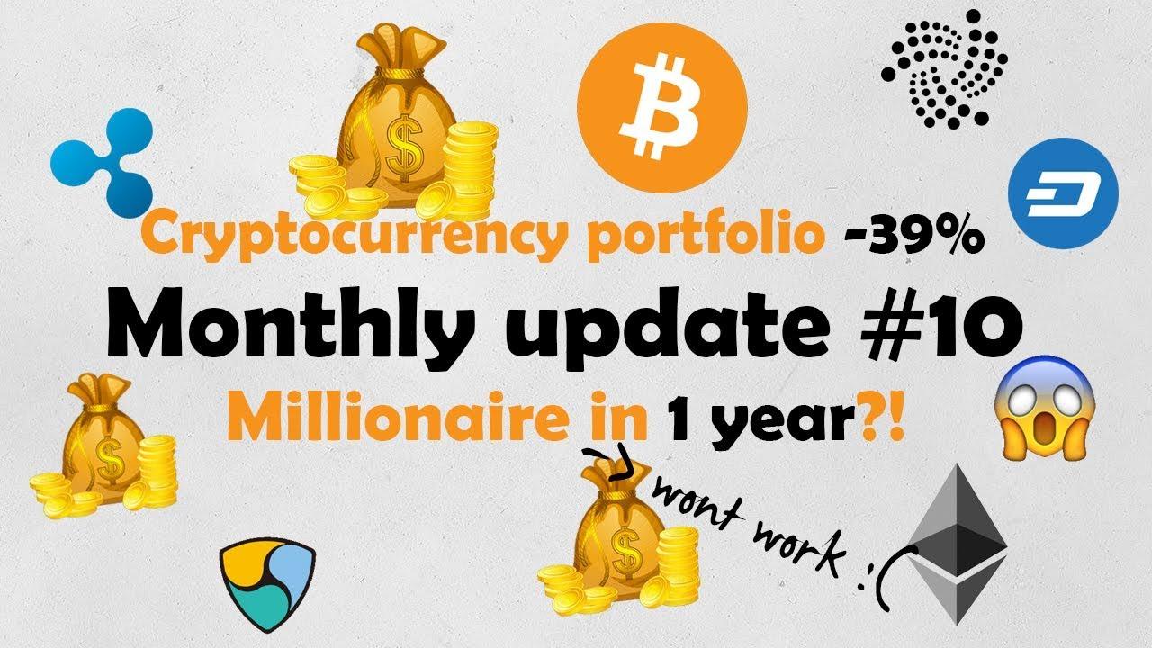 Monthly update #11 - portfolio -39% this month