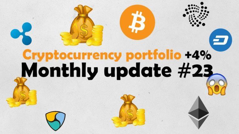Monthly update #23 – Portfolio +4% this month