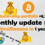 Monthly update #3 - portfolio +8,70% this month - multimillionaire in 1 year?!