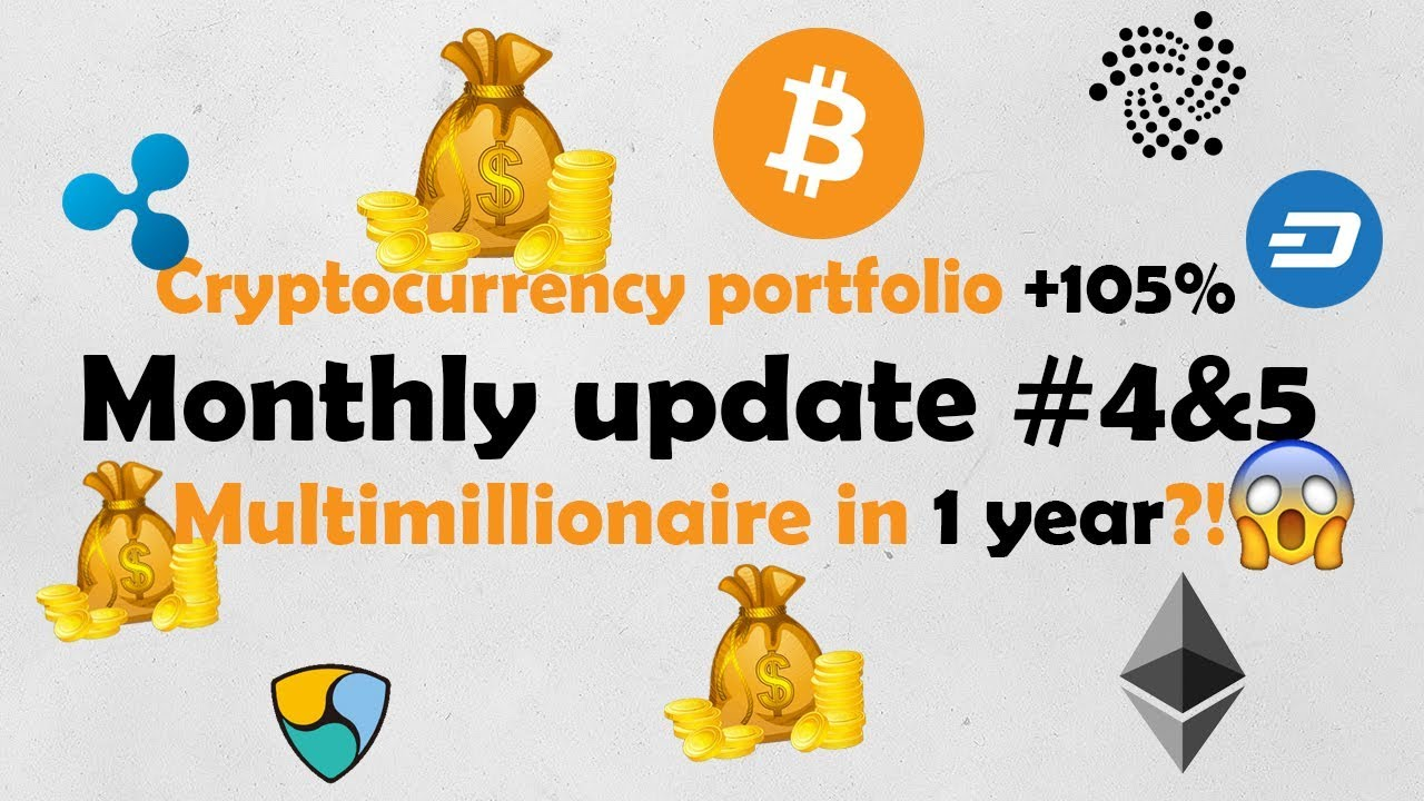 Monthly update #4&5 - portfolio +105% this month
