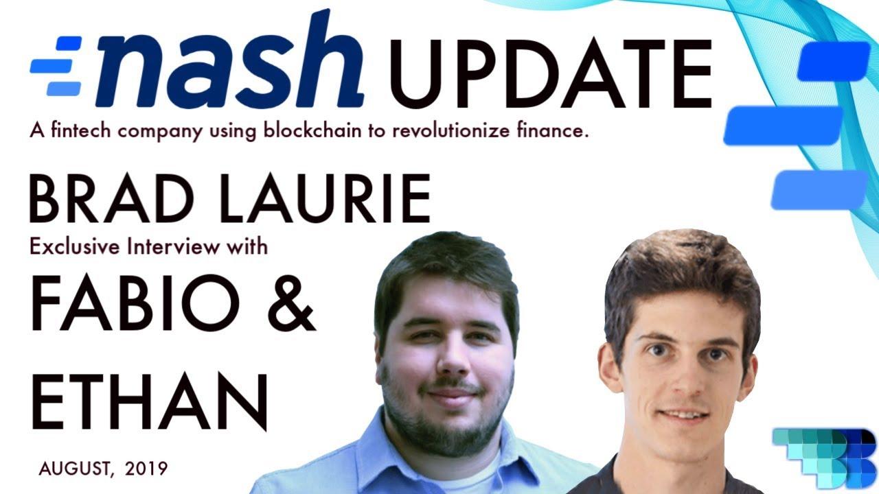 Nash | BlockchainBrad | Distributed Finance | MVP | Non-Custodial Financial Service Platform