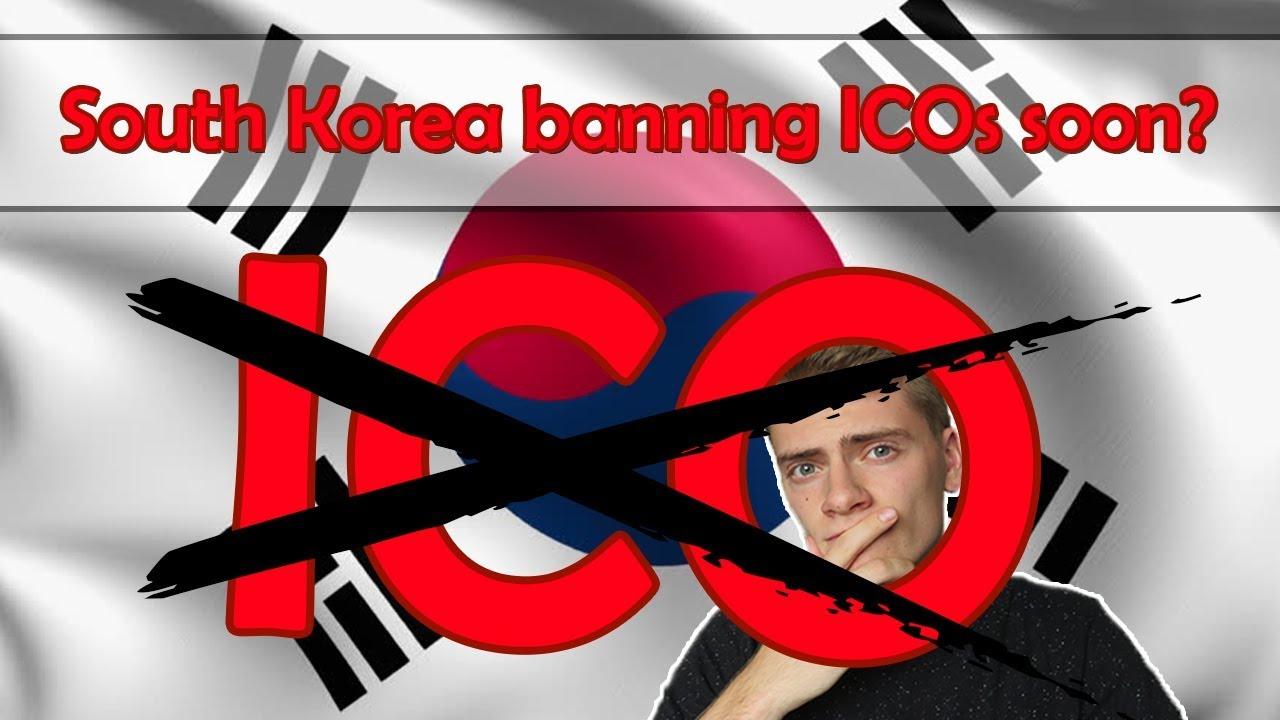 News: South Korea ICO ban? Market reaction?