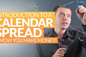 Option Strategy: How a Calendar Spread Works & How You Make Money from Theta Decay Ep 209