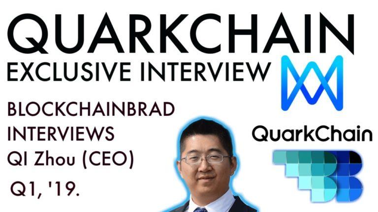 Quarkchain Update Interview   BlockchainBrad   MainNet April 30   Guardian Plan   Enterprise