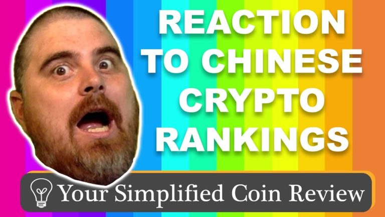 Reaction Video to Chinese Crypto Rankings