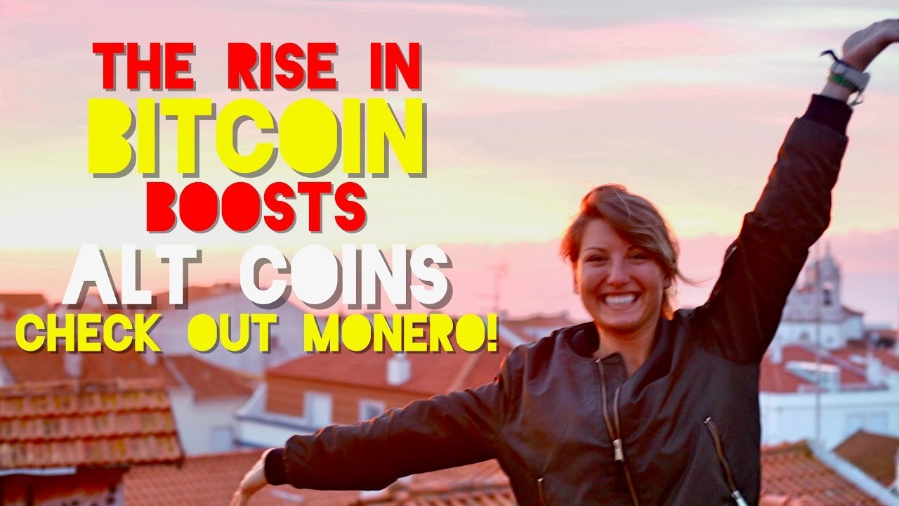 Rise in Bitcoin Boosts Alt Coins